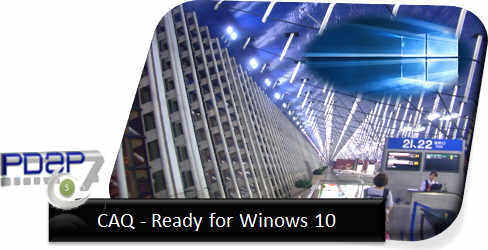 PDAP7.5 CAQ Ready for Windows 10
