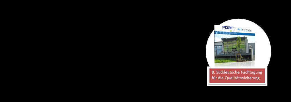 8. Süddeutsche Fachtagung für die Qualitätssicherung