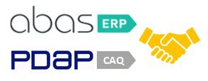 PDAP und abas – ERP und CAQ – gemeinsam besser